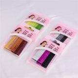 Kids Fashion Glittery Boîte colorée Packed Boucles d'oreilles en métal (JE1002)