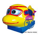 Máquina de jogo feliz interativa a fichas do passeio do Kiddie do avião (ZJ-K17)