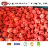 Gefrorene gewürfelte süsse Erdbeere-Tablette