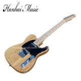 Música / String-Thru Hanhai cuerpo estilo Tele Guitarra eléctrica