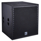 "PRO 21"" de la CVR High-Power Lautsprecher Subwoofer Box"