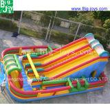 子供および大人(DJWSMD8000011)のための巨大なPVC膨脹可能なスライド
