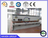 Machine de tonte hydraulique de plaque en acier en métal de faisceau de l'oscillation QC12Y-20X3200