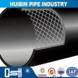 HDPE van de Watervoorziening van de Pijpleiding van het Drinkwater van het polyethyleen Stedelijke en Landelijke Montage