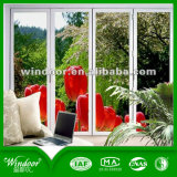 La finestra di alluminio aperta di Casemetn di costruzione di progetto del socio della finestra del doppio globale del fornitore al prezzo di fabbrica 6mm+12A+6mm ha lustrato la finestra di alluminio