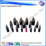 Belüftung-Hüllen-Leistungs-Kabel mit XLPE Isolierung