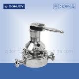 Ss 316L Manual da Válvula de Amostragem asséptica com conector de Pipeline