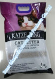 Unregelmäßige Bentonit-Katze-Sänfte-Produkte mit starkem Geruch Control-5kg