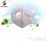 Masque de poussière de face de brouillard enfumé 3m de coutume de N95 anti de bouche de filtre remplaçable de carbone