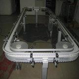 Correia transportadora superior lisa plástica modular resistente do funcionamento reto de 8505 correias transportadoras para o alimento