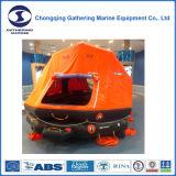 El SOLAS aprobado Lanza-Al agua la balsa salvavidas inflable