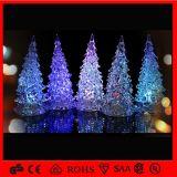 Las luces de la Navidad ligeras del anuncio publicitario LED del día de fiesta calientan luces del árbol de navidad del LED