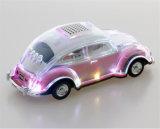 Transparentes buntes Lichter Subwoofer Auto MiniradiostereominiBluetooth Lautsprecher