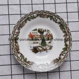 Arbre de Noël de l'ouest de la porcelaine Vaisselle défini