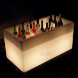 Eis-Wanne mit LED beleuchtet Plastikeis-Wanne