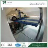 Pfosten-Auto-Parken-Aufzug-einfacher Parken-Aufzug des GG-Marken-Cer-2300-3200kgs des Hydrozylinder-zwei