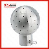 Bille statique hygiénique de nettoyage de 360 du degré CIP d'acier inoxydable fins de boulon