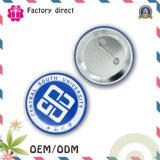 Insignia del botón de la impresión del PVC de la alta calidad de 38m m