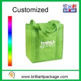 Fördernder Portable-nicht gesponnener Einkaufstaschetote-Beutel