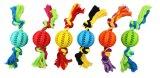 Giocattolo di gomma del gatto TPR dell'animale domestico della sfera del giocattolo del cane di consegna in tutto il mondo