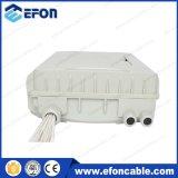 1 16 PLC Splitter IP66 24port fibra óptica cable caja de conexiones (FDB-024E)