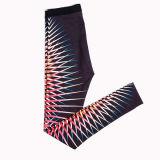 熱く新しい印刷はヨガのズボンの堅い適性のレギングを遊ばす