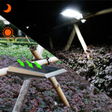 Il sensore di movimento esterno chiaro solare 18 LED impermeabilizza la lampada da parete del giardino dell'alberino da 250 lumen