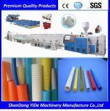 Máquina plástica del estirador del tubo acanalado de un sólo recinto de PE/PP/PVC