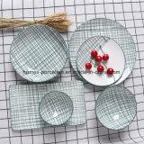 世帯のための西部の新式の陶磁器の食事用食器セット