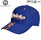 Nuovo berretto da baseball progettato blu d'avanguardia di sport del cotone