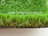 44мм пейзаж искусственных травяных в саду есть балкон (SUNQ-AL00109)