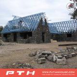 빨리 Prefabricated 가벼운 강철 구조물 광고 방송 주택 건설을 조립하십시오