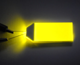 Luminoso verde do diodo emissor de luz para o indicador do LCD