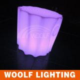 옥외 LED 벤치 부류 또는 옥외 벤치 또는 둥근 나무 벤치