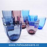 Tazza di vetro colorata formato differente di vetro della chiavetta