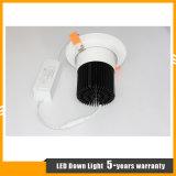 ÉPI enfoncé par CREE Downlight de 30W DEL/plafonnier pour l'éclairage de système/marché/mail