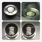Indicatore luminoso sotterraneo caldo della PANNOCCHIA LED 6W LED di vendite in IP67