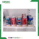 スーパーマーケットのタバコのためのプラスチック棚の補助機関車システム
