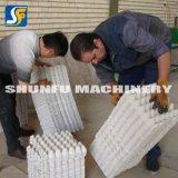 Le papier de rebut réutilisent la machine utilisée de plateau d'oeufs/chaîne de production automatique de plateau d'oeufs de pulpe de papier