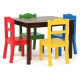 Горячая продажа детей стол и стул в фонд маркетингового развития детей из дерева мебель