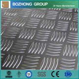 Plat antidérapage en aluminium de la vente 6063 chauds