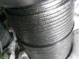 De grafiet Verpakking met Draad Inconel heeft Grotere Mechanische Sterkte