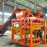 Вымощая камень Qt4-25 делая цену машины блока Paver машины в Индии