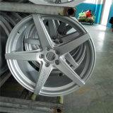 17、18、5つのスポークを熱販売する19インチ5個のラグナットのアルミニウム車のアルミニウム車輪の縁