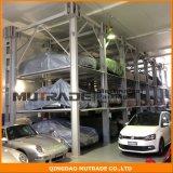 3 4 гидровлических штабелеукладчик автомобиля подъема стоянкы автомобилей столба вертикали 4