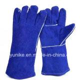 Вырезать из натуральной кожи к безопасности работников рабочие перчатки