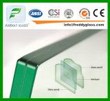 Verre feuilleté coloré de verres de sûreté avec le vert PVB de nature