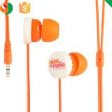 마이크를 가진 귀 헤드폰에 있는 주문 다채로운 입체 음향