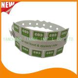 Entertainment Ficha 10 pulseras de plástico de PVC Pulsera Pulsera ID (E6070-10-33)