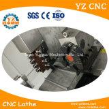 빛과 무거운 도는 응용 편평한 침대 또는 기울기 침대 CNC 선반 기계